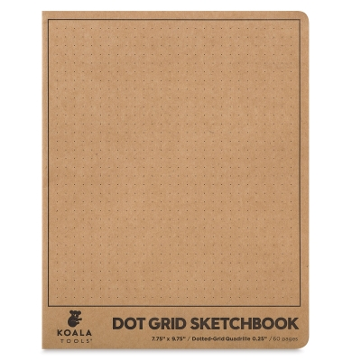 Dot Grid Sketchbook, 30 Sheets/60 Pages