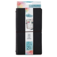 Black Faux Leather Journal