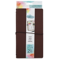 Brown Faux Leather Journal