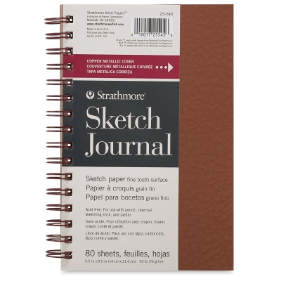 Metallic Sketch Journal, 80 Sheets