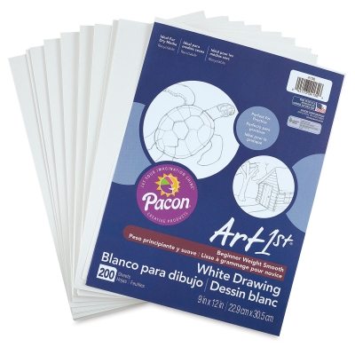 White Drawing Paper, 200 Sheets