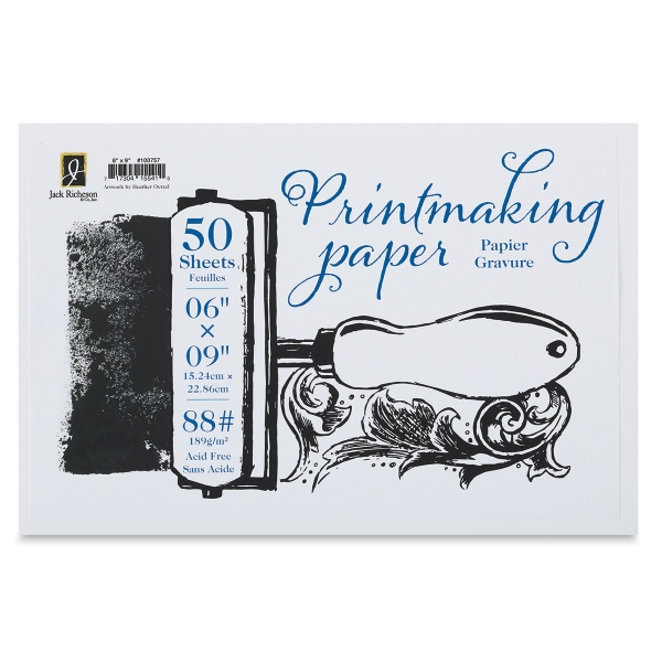Bulk Printmaking Paper, 50 Sheets