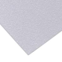 Glitter Cardstock, White