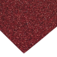 Glitter Cardstock, Red