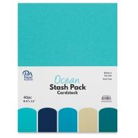 Cardstock Stash Pack, Ocean