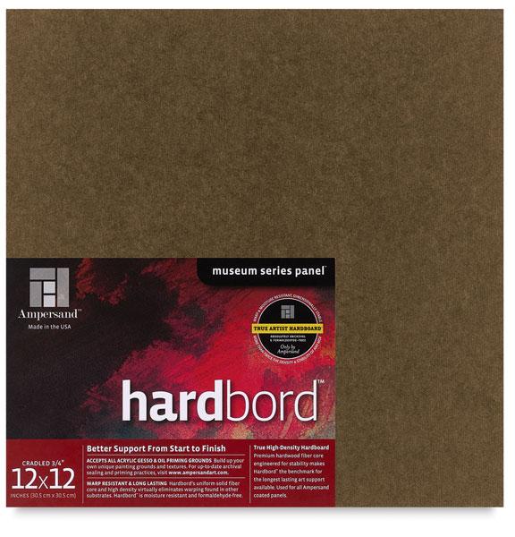 "Hardbord, 3/4"" Cradled"