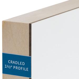 "1½"" Cradled Gessobord"