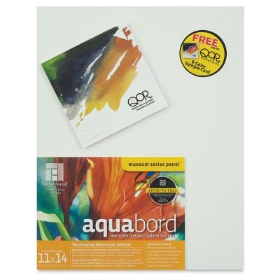 Aquabord, Flat with <strong>FREE</strong> QOR Sample Card