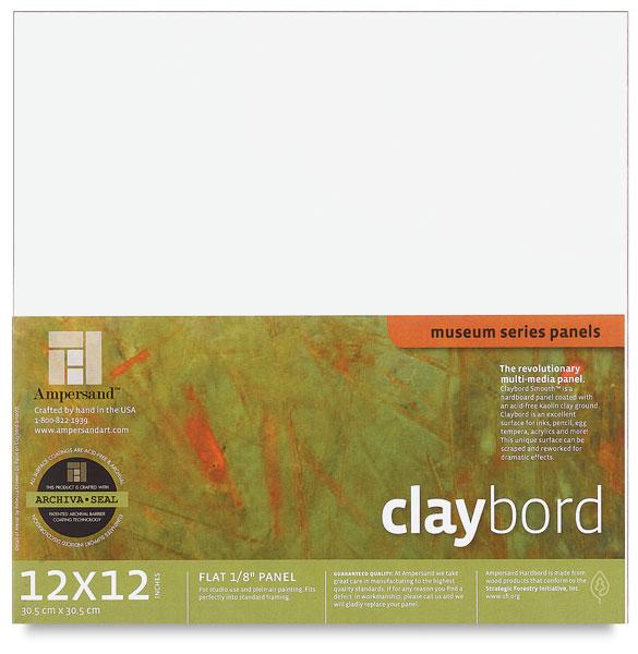 "Claybord, 1/8"" Thick"