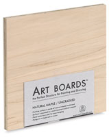 Art Boards Natural Maple Panels