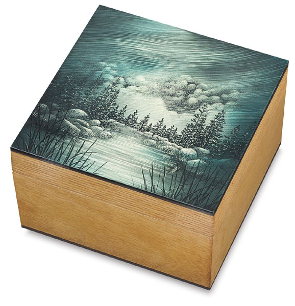 "Sample Artwork, <nobr>5"" × 5"" Box</nobr>"