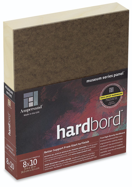 "Hardbord, 1-1/2"" Cradled"