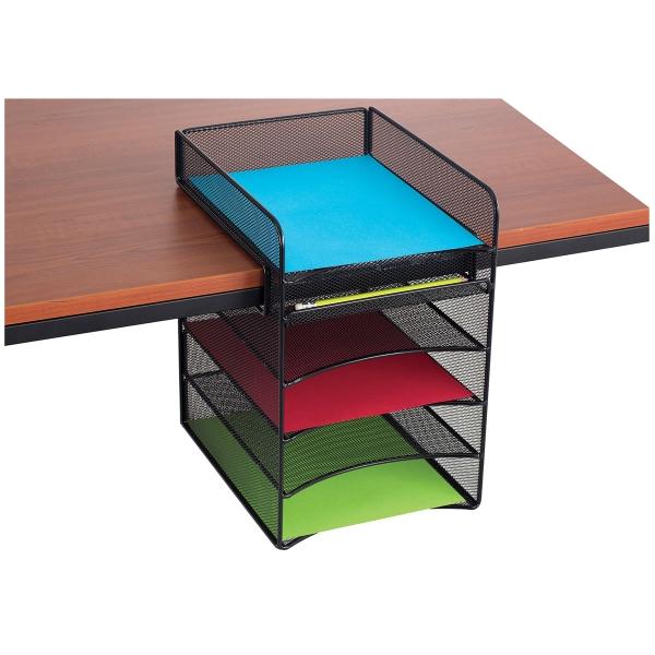 Onyx Hanging Desk Organizer, Horizontal