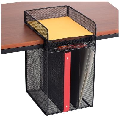 Onyx Hanging Desk Organizer, Vertical