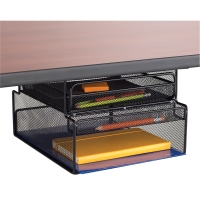 Onyx Hanging Desk Organizer, Mountable