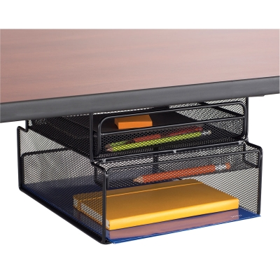 Onyx Hanging Desk Organizer Mountable