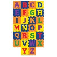 WonderFoam Carpet Tiles, Alphabet