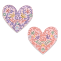 Lace Heart Dies, Set of 10
