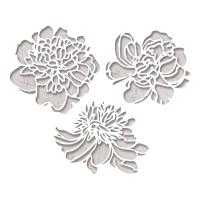 Cutout Blossom Dies, Set of 3