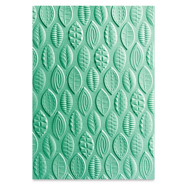 Embossing Folder, Leaves