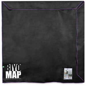 "BIYOMAP Art Protection Case, 82"" x 82"" w/ Purple Border"