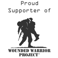 Purchasing a Star Products Red Wallet Portfolio makes a donation to Wounded Warrior Project