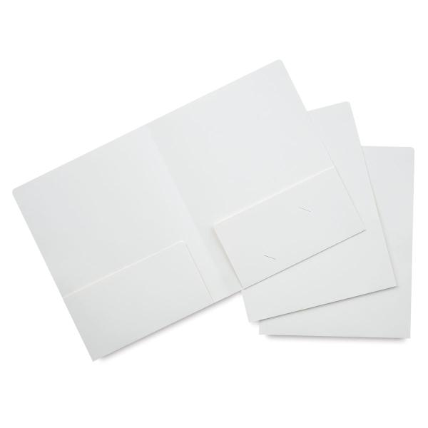 White Folder, Pkg of 3