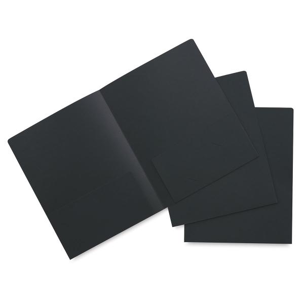 Black Folder, Pkg of 3