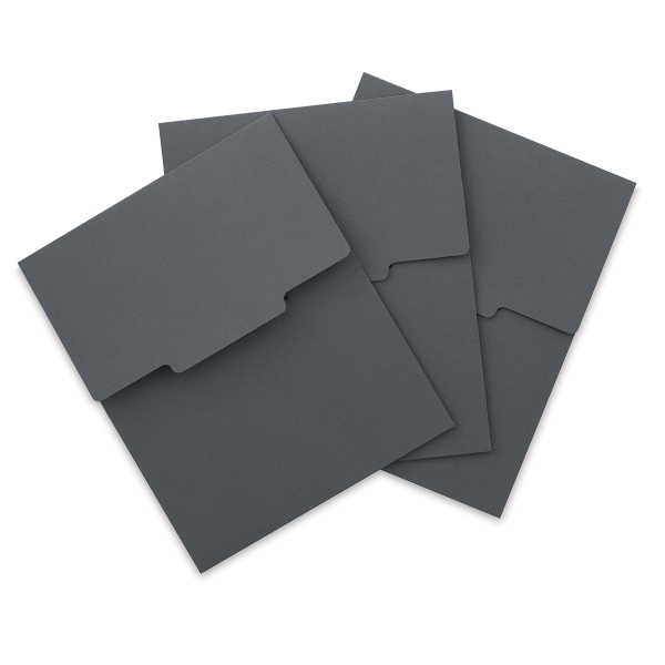 Dark Gray Envelope, Pkg of 3