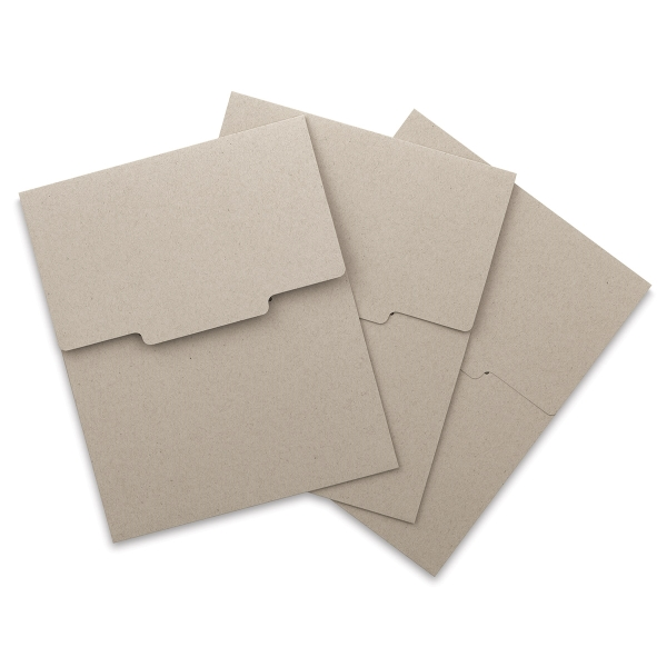 Kraft Brown Envelope, Pkg of 3