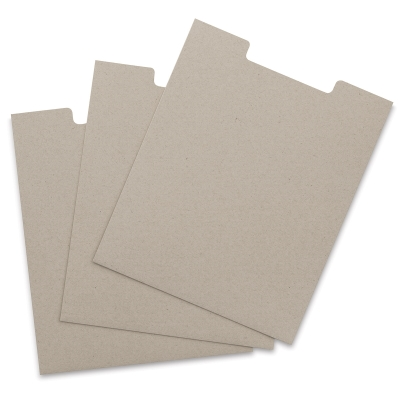 Kraft Brown Open Top Sleeve, Pkg of 3