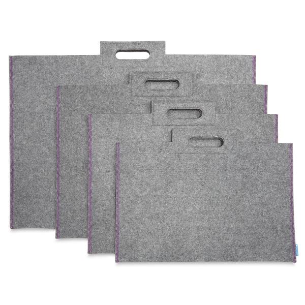 Profolio Midtown Bag, Gray, Multiple Sizes Shown