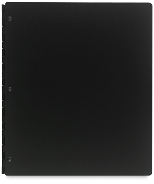 Vista Screwpost Presentation Book, Onyx