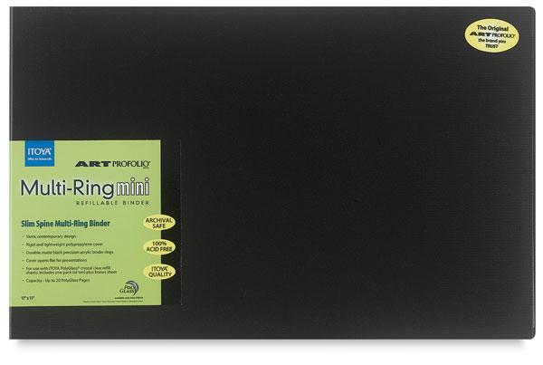 "Multi-Ring Mini Binder, 11"" × 17"""