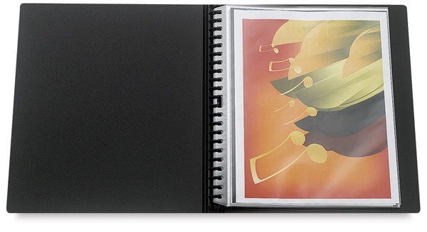 "Multi-Ring Mini Binder, 11"" × 8½"""