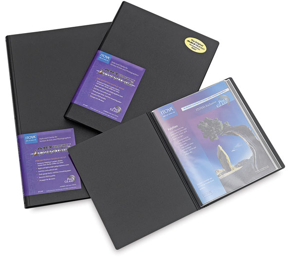 Itoya Art Profolio Advantage Presentation Books BLICK Art Materials