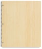 Pina Zangaro Bamboo Screwpost Binder, Natural, Portrait