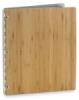 Pina Zangaro Bamboo Screwpost Binder, Amber, Portrait