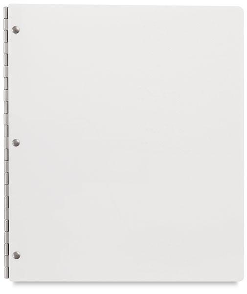 Vista Screwpost Presentation Book, Snow