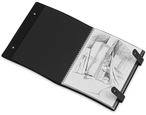 Presentation Book, Double Tab Closure, Portrait