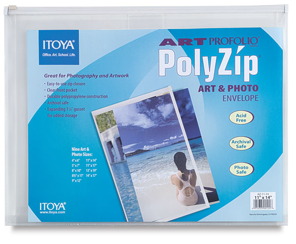 "PolyZip Envelope, 11"" × 14"""