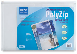 "PolyZip Envelope, 11"" × 17"""