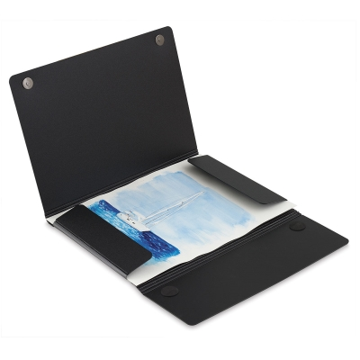 "Magnet Closure Portfolio Case, 8½"" × 11"""