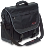 Just Stow-It Messenger Bag , Black