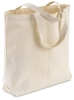 Large Canvas Tote Bag, No Pockets