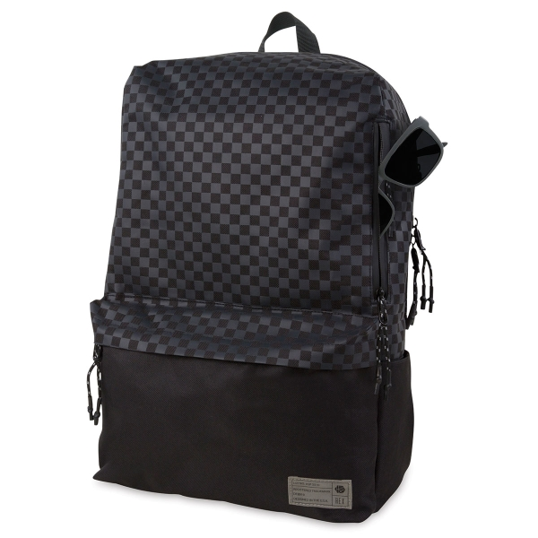 Exile Backpack, Black Check