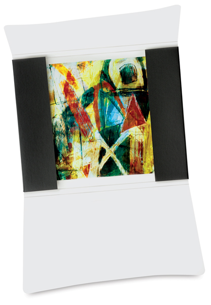 File/Photo Folio, Metallic Black