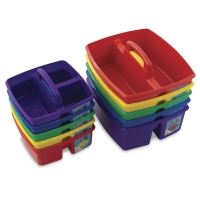 Classroom Caddies, Small and Large shown