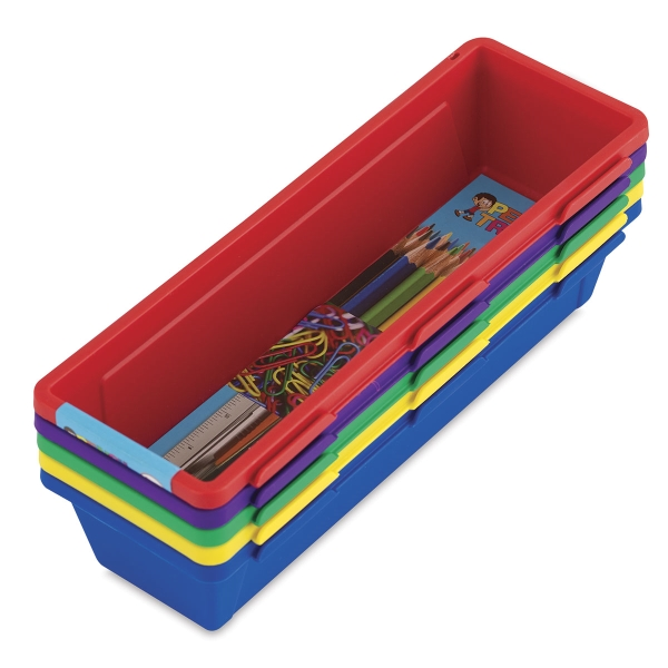 Interlocking Trays, Set of 5 (contents not included)