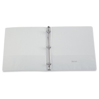 Economy Round Ring View Binder, White